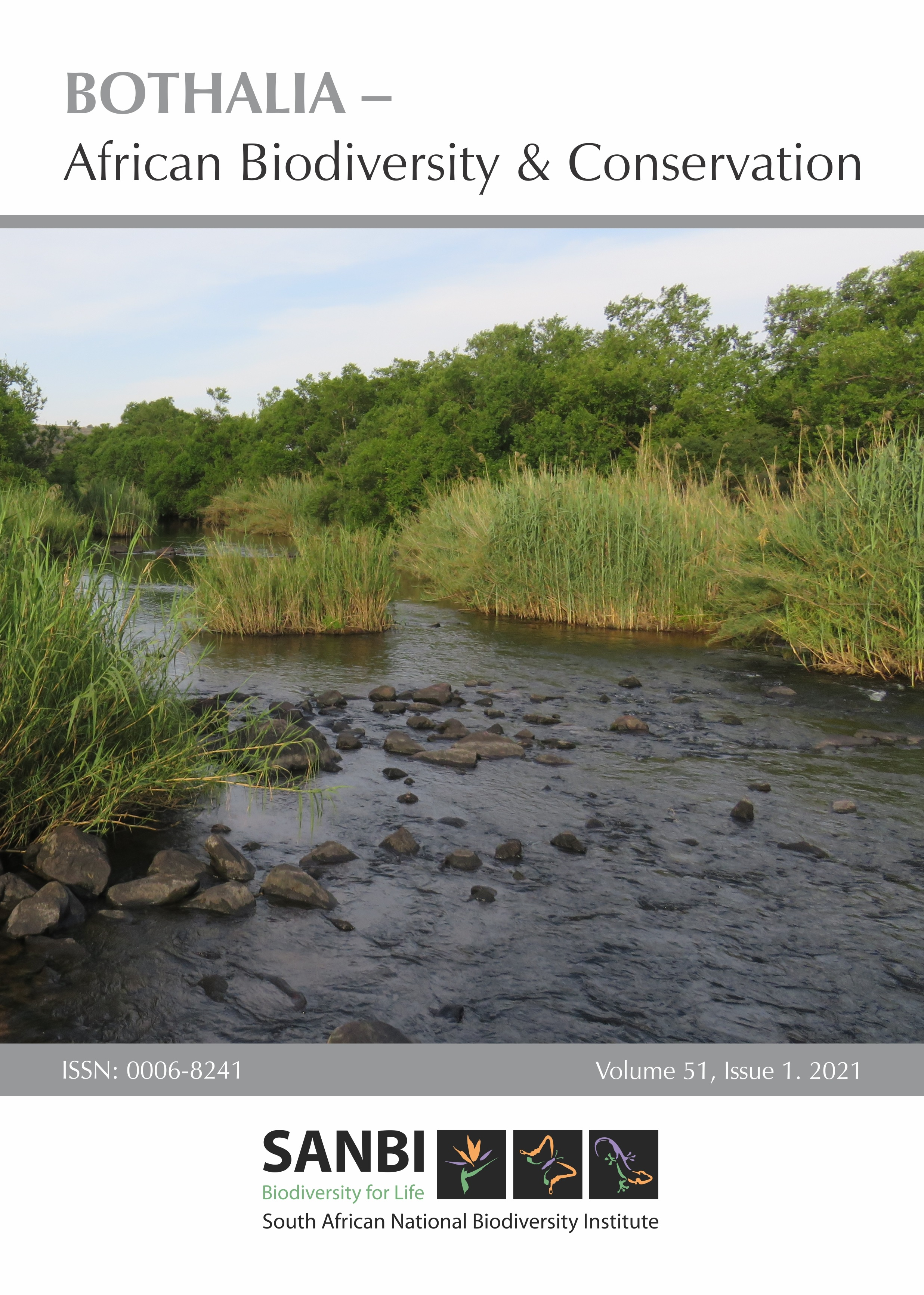 View Vol. 51 No. 1 (2021): Bothalia, African Biodiversity & Conservation Special Issue