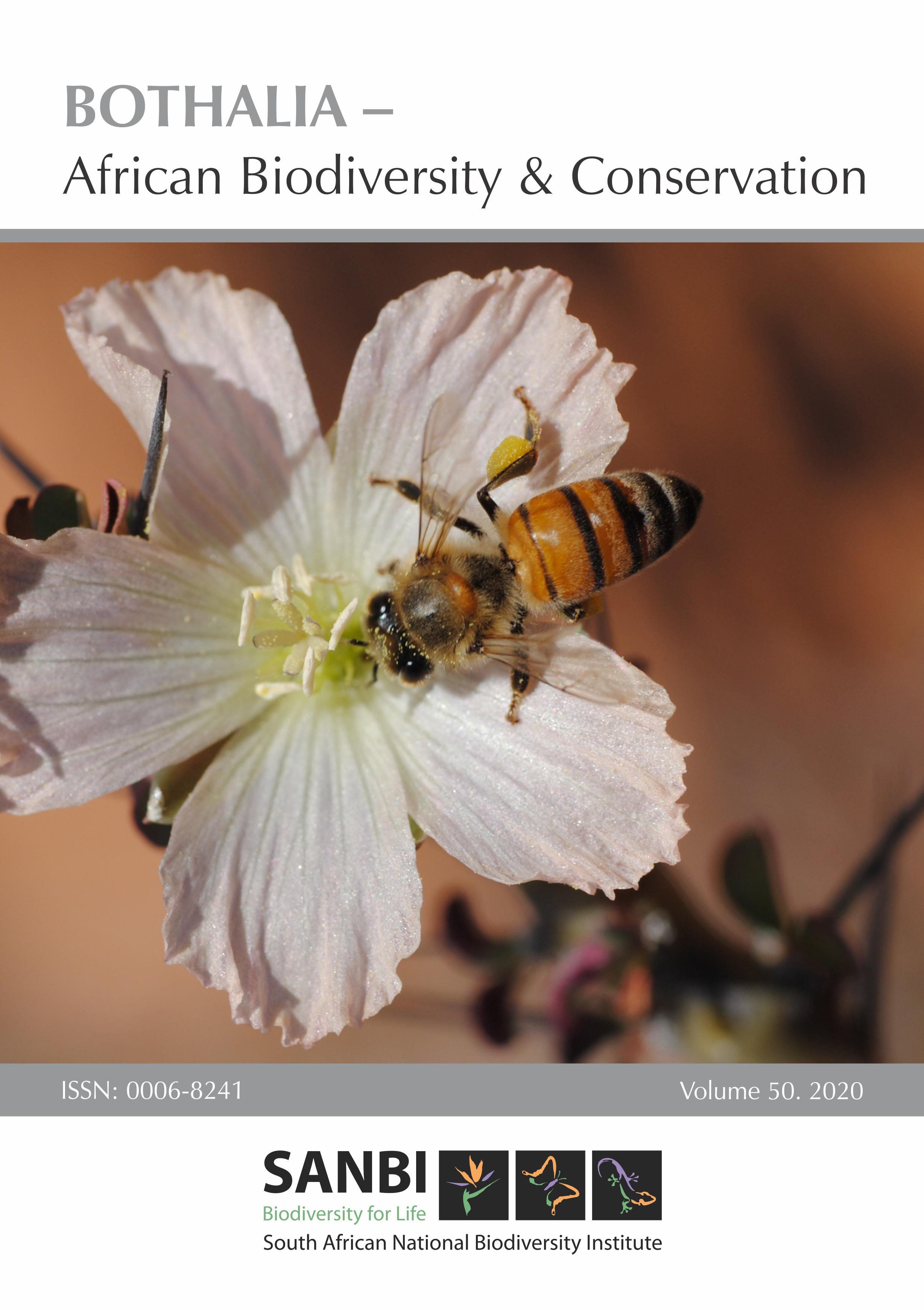 View Vol. 50 No. 1 (2020): Bothalia, African Biodiversity & Conservation