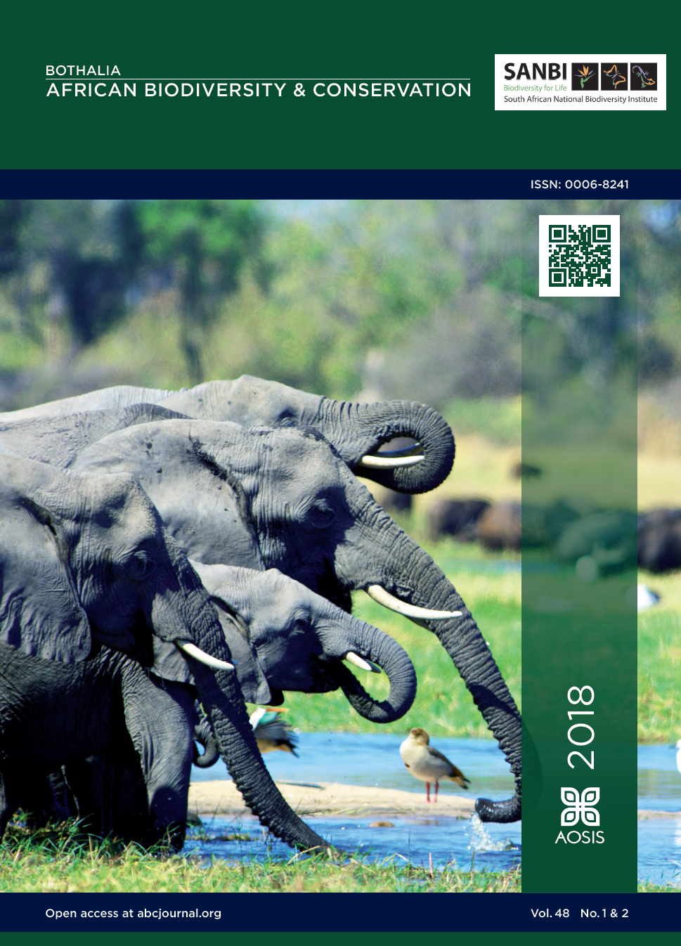 View Vol. 48 No. 1 (2018): Bothalia, African Biodiversity & Conservation